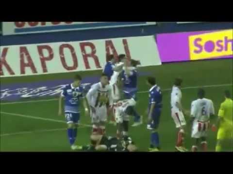 Ajaccio 0 - 1 Bastia (Bagarre générale)