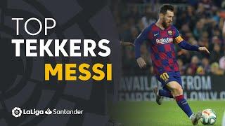 LaLiga Tekkers: Messi guía al FC Barcelona hacia la victoria