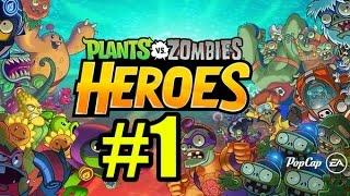 Смотреть растения против зомби герои Прохождение #1