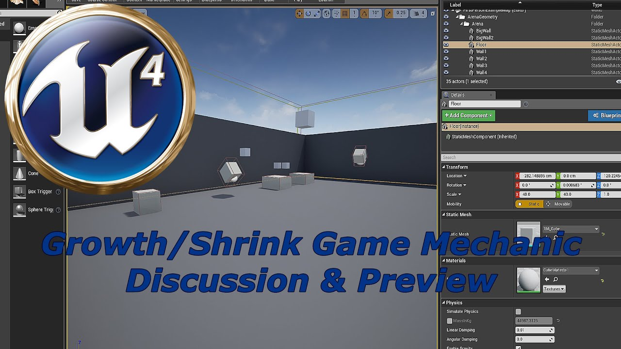 Ue4 blueprint discussion object growthshrink devinleveldesign ue4 blueprint discussion object growthshrink devinleveldesign malvernweather Images