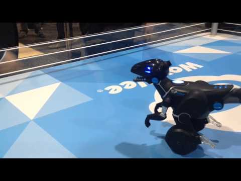 CES 2015: WowWee's MiPosaur Is A Dancing Dino