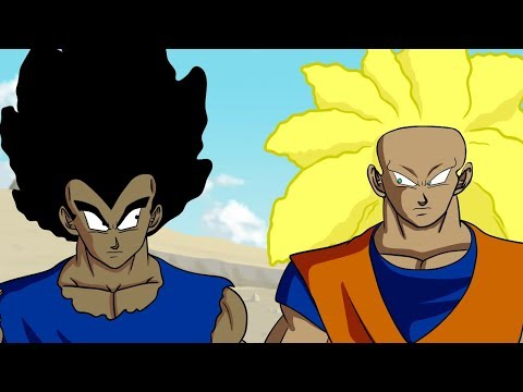 If Goku and Vegeta were BLACK part 3! (DBZ Parody)