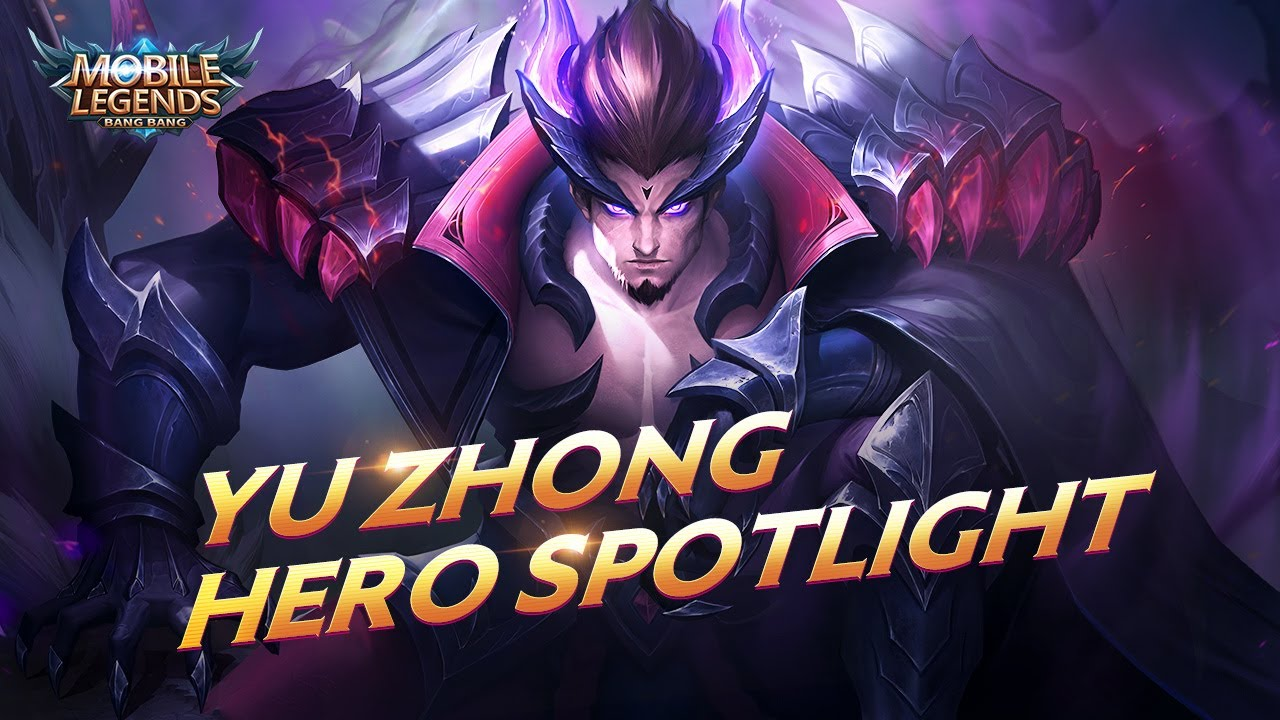 Hero Spotlight | Yu Zhong | Black  Dragon | Mobile Legends: Bang Bang