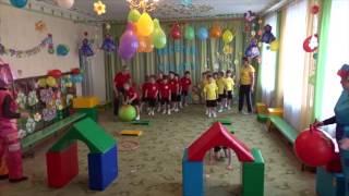 Весёлые старты Детский сад Сокол 2017