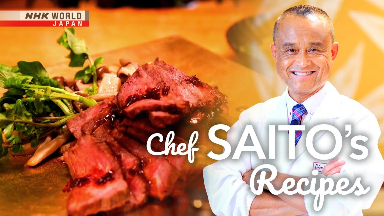 Photo of Chef Saito's Beef with Kombu Dashi Sauce [Japanese Cooking] – Dining with the Chef – video