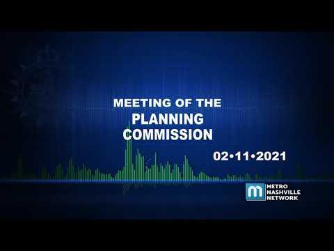 02/11/21 Planning Commission