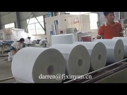 HRT JRT Maxi roll tissue paper making machine production line