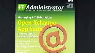 Magazin IT Administrator 5/14 Messaging & Collaboration App Suite Open X-change