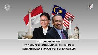 Pertemuan Menteri Luar Negeri Malaysia dan Indonesia 🇲🇾 🇮🇩