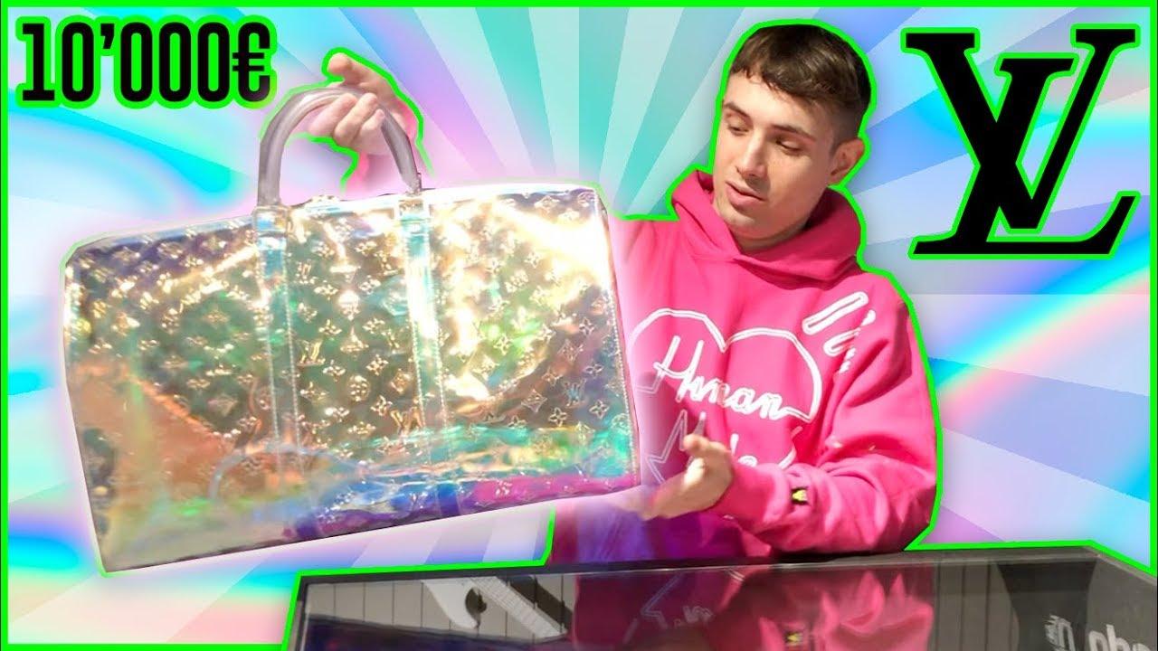 La borsa di PLASTICA Louis Vuitton da 10MILA euro!? - YouTube