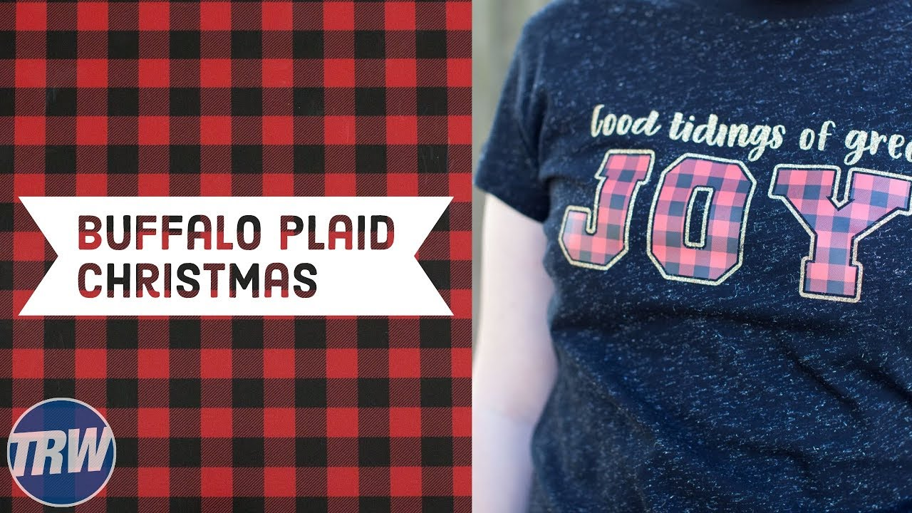 Chemica Buffalo Plaid Pattern Print Design For Christmas Youtube