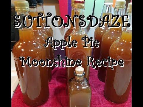 Our Apple Pie Moonshine Recipe ~ SuttonsDaze