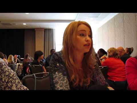 Sarah Schechter for Supergirl at SDCC 2016