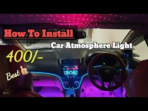 Car atmosphere lighting
