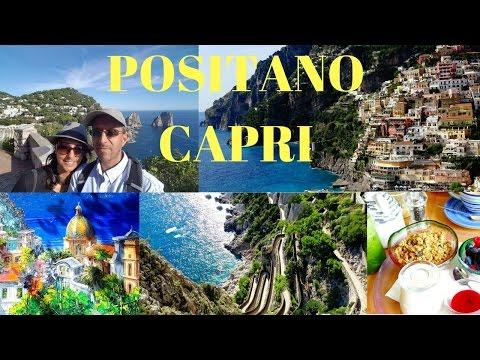 TRIP TO ITALY | 18 DAYS | POSITANO & CAPRI STOP| 4K