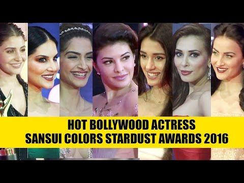 Hot Bollywood Actress At At Sansui Colors Stardust Awards 20