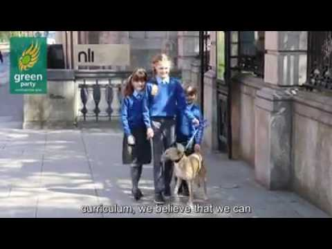 ISPCA & Green Party call for Animal Welfare to be taught in National Schools