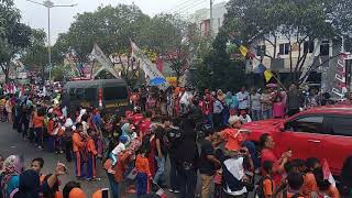 Download Video Pawai obor Asian games Jl Teuku Umar Bandar Lampung MP3 3GP MP4