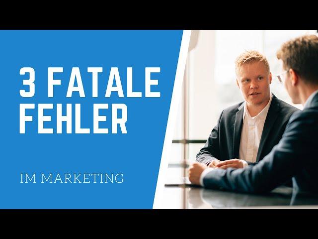 Drei fatale Fehler im klassischen Marketing, die messbar Umsatz kosten - Agenturen und Shops
