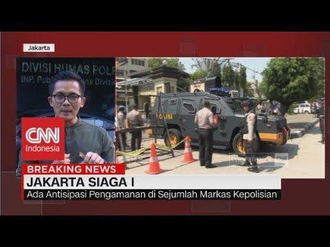 Bom di Surabaya, Jakarta Siaga I