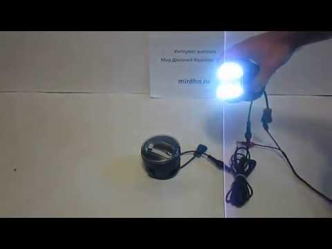 Светодиодные противотуманные фары с ДХО на Nissan и Infiniti. От МирДХО
