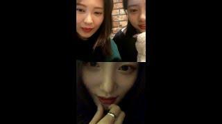 [200216]Yebin's ig live (with Jungchaeyeon&Eunchae)