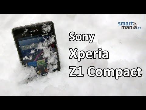 Sony Xperia Z1 Compact: Videorecenze a vodní test