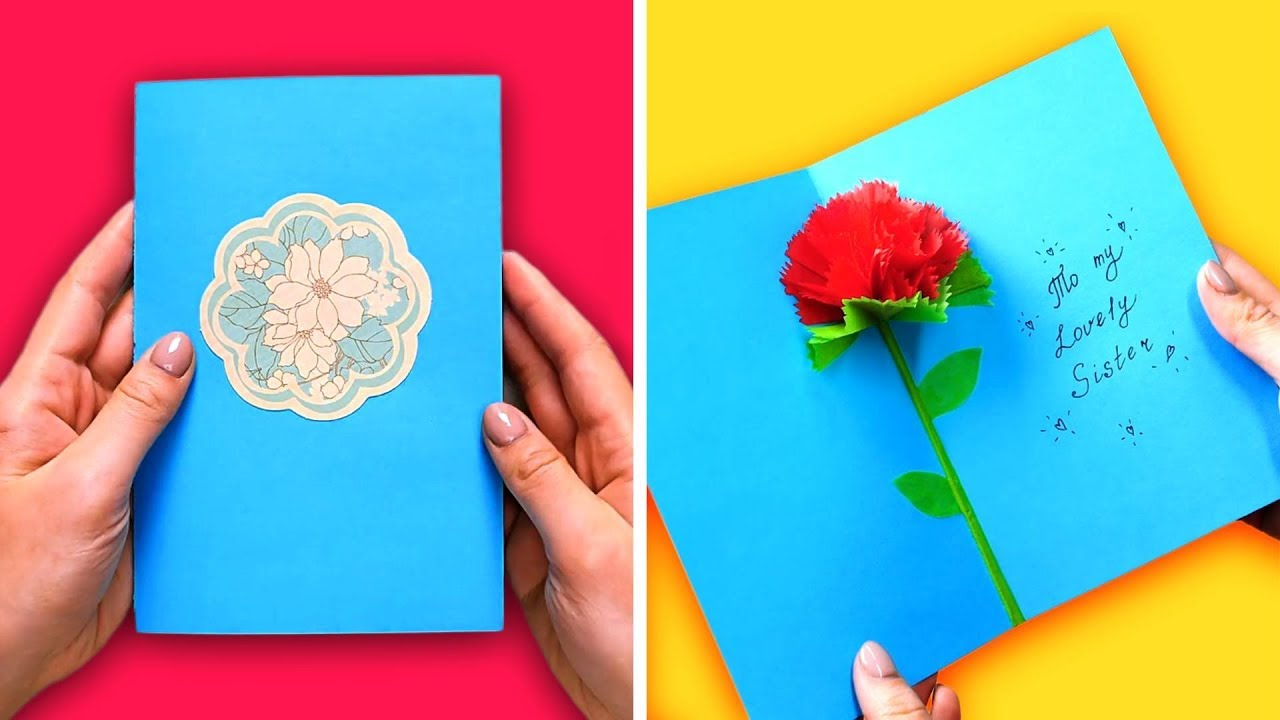 28 SUPER EASY GREETING CARDS YOU CAN DIY - YouTube