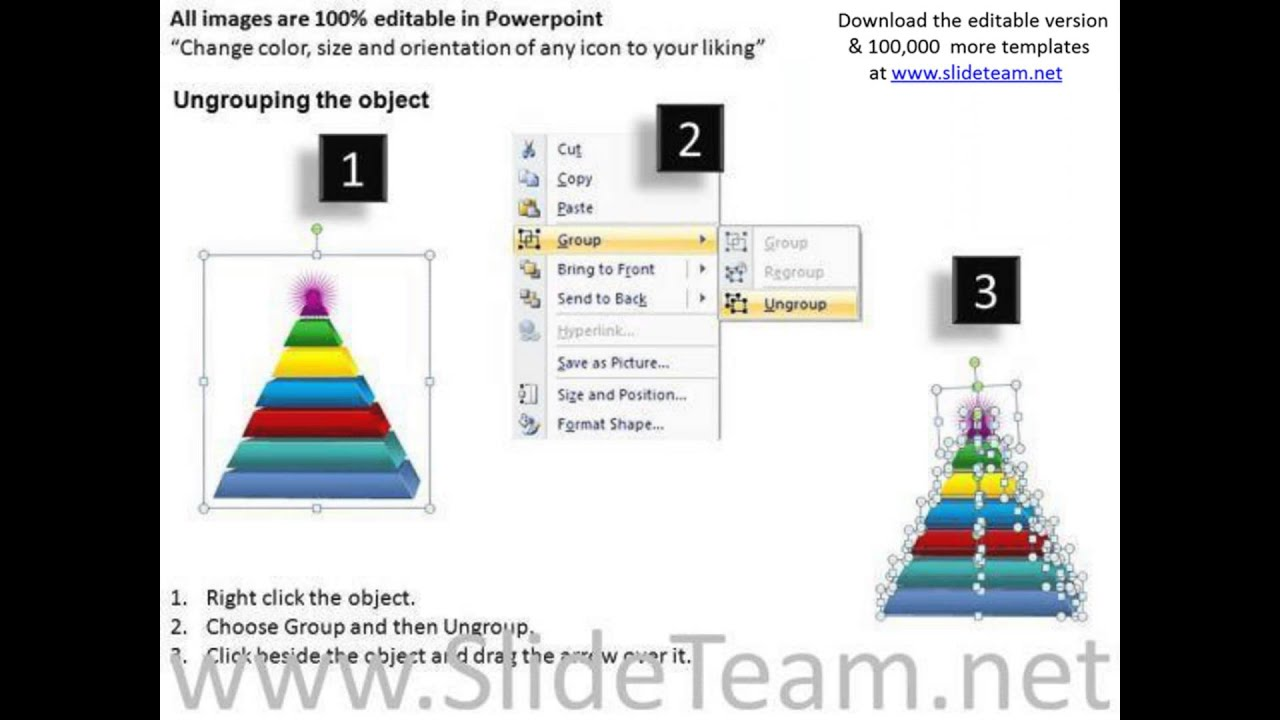 pyramid powerpoint template choice image - templates example free, Modern powerpoint
