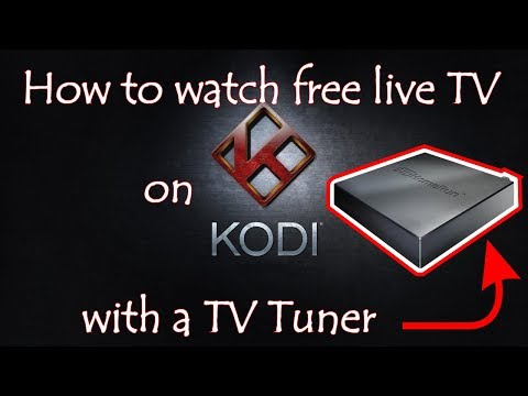 How To Watch Free Live Tv On Kodi With TV Tuner  😎 ✔️ 💯 👁‍🗨