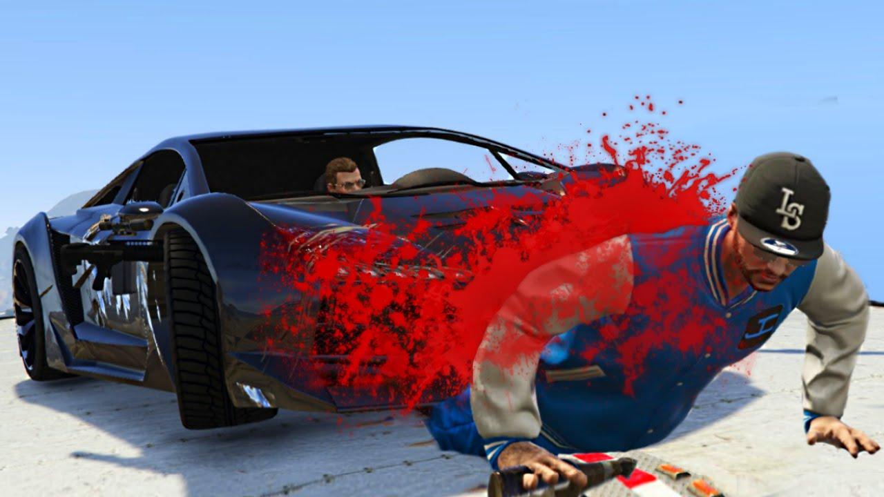 MOST *BRUTAL* CAR CRUSH! (GTA 5 Funny Moments) - YouTube