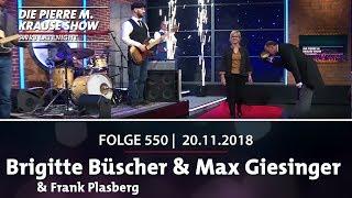 Die Pierre M. Krause Show vom 20.11.2018 mit Brigitte, Frank und Max
