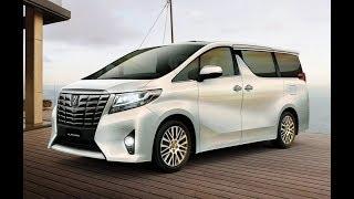 2017 Тойота Альфард - люксовый минивэн. New Toyota Alphard 3