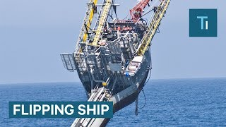 This Ship Flips At 90 Degrees To Help Scientists Study The Ocean