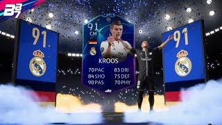 CHAMPIONS LEAGUE PLAYER SBC!! 91 TOTGS KROOS! | FIFA 19 ULTIMATE TEAM