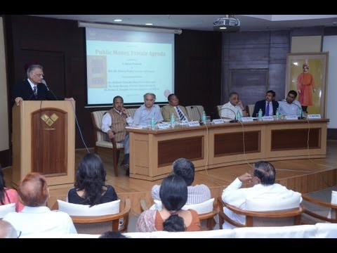 Launch of Public Money, Private Agenda - Sh  Shivraj Patil (Governor of Punjab)