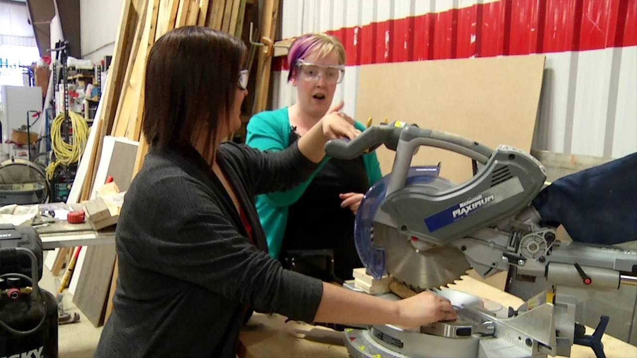 How NOT to use Power Tools -- Habitat Saskatoon
