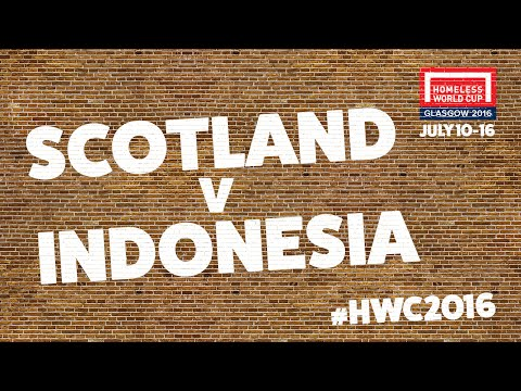 Scotland v Indonesia l Second Stage Group A #HWC2016