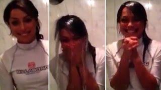 Eva Carneiro (Sexy Chelsea Physio) Takes On The ALS 'Ice Bucket Challenge' !!