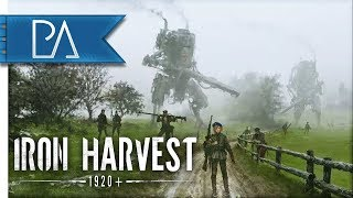 GREAT NEW STRATEGY GAME: WW1 & MECHS - Iron Harvest Gameplay (Alpha)
