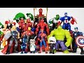 Romeo Created The Avengers Clone~ Hulk, Iron man, Thor, Captain America, Spider Man Toys Play