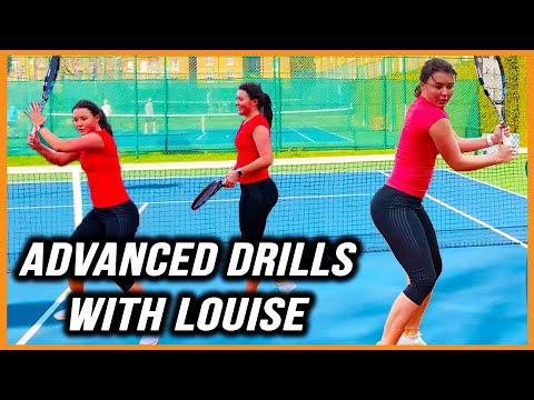 Advanced Tennis Drills | High Performance Forehand And Backhand Drills | Supreme Tennis