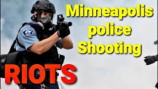 Minneapolis Police Station Under Attack !! - Liquor Store Looted