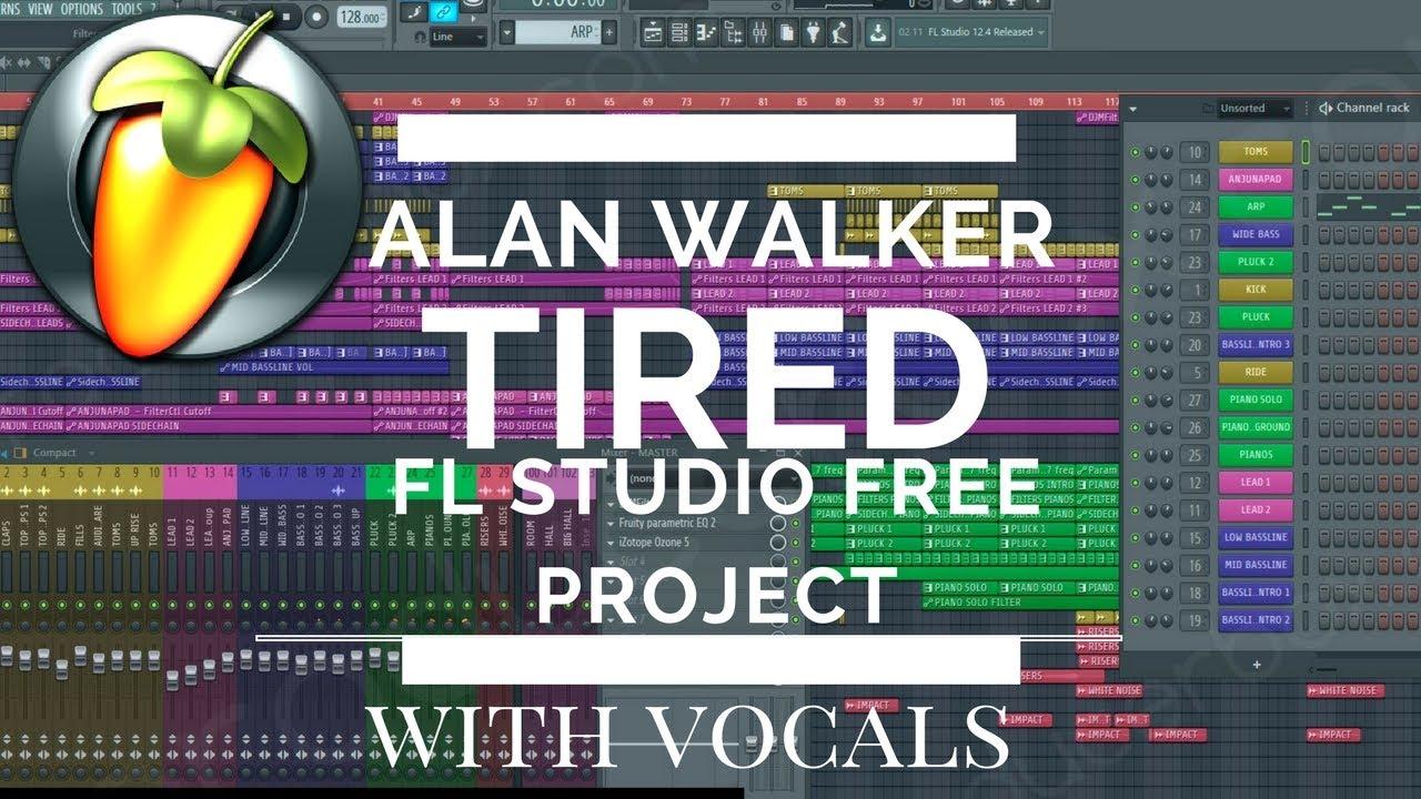 [FUTURE BASS] ALAN WALKER - TIRED_Lotfi ft Jason Bedville