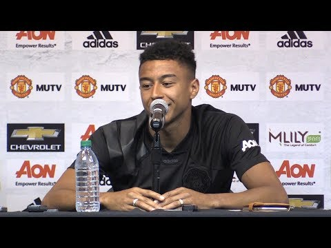 Jesse Lingard Press Conference Ahead Of LA Galaxy Match - Manchester United Tour 2017