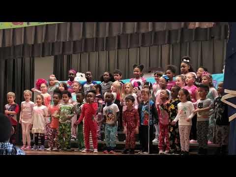 Pajama party @ green run elementary school