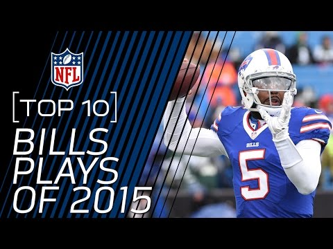 Top 10 Buffalo Bills Plays of 2015 | #TopTenTuesdays | NFL