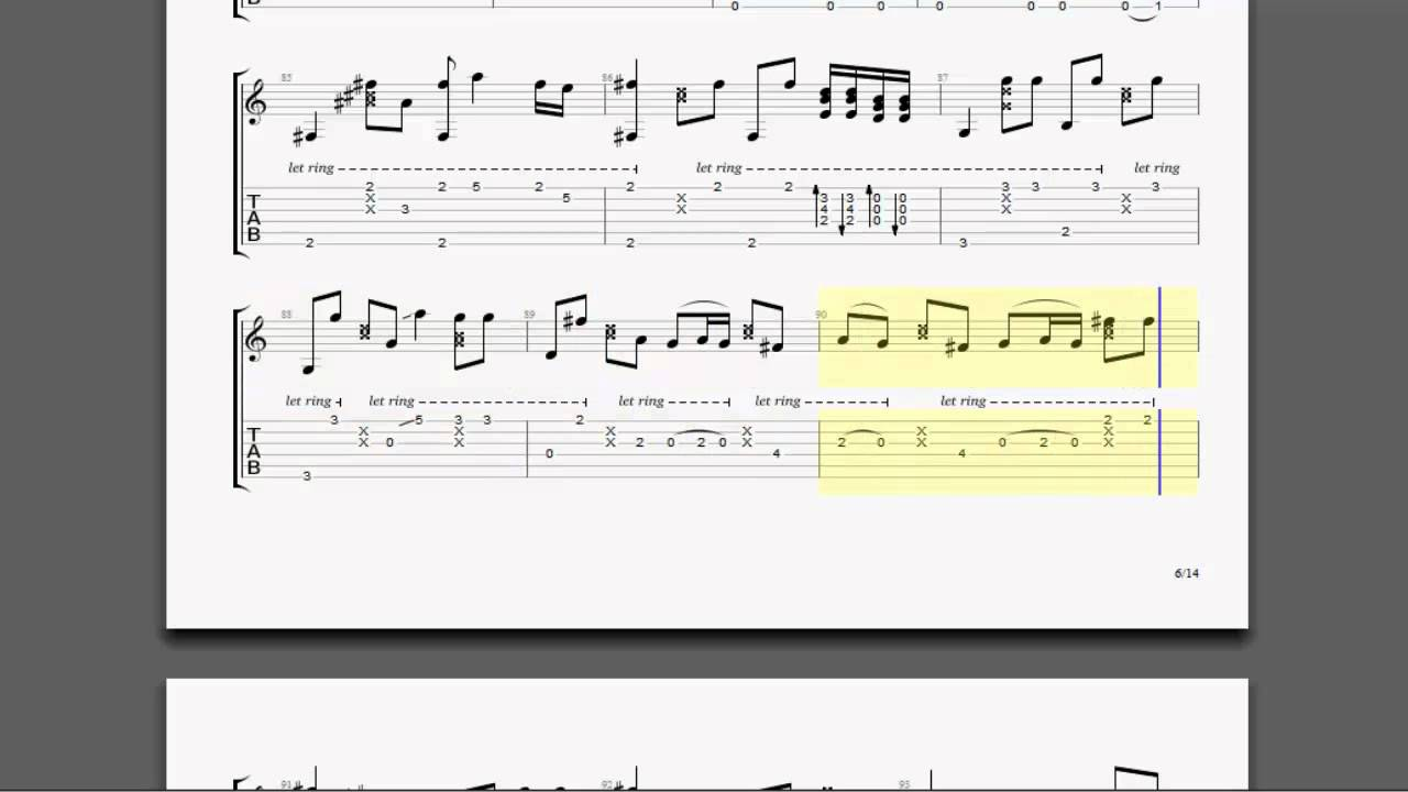 [TABS] Hotel California by Eagles Arranged by Tomi Paldanius - YouTube