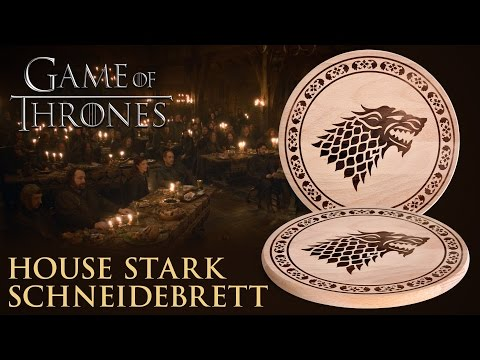 Game of Thrones: House Stark Schneidebrett