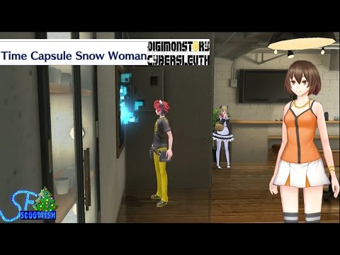 Time Capsule Snow Woman (Digimon Story Cyber Sleuth)(Playstation 4)